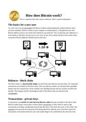 Fichier PDF bitcoin