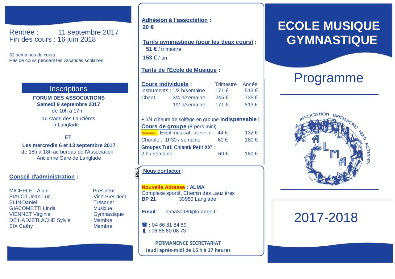 Flyer 2017 2018 pages 1 et 2.pdf - page 1/2