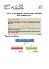 lettre de rentree de la fondation habib bourguiba 1