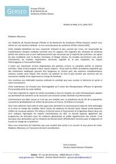Fichier PDF lettre ouverte gersed