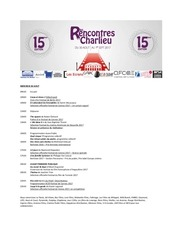 programme detaille