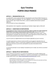 reglement quiz porto cruz septembre 1