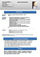 cv a jour gardiennage pdf 2
