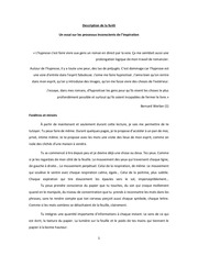 description de la foret