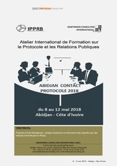 abidjan contact protocole 2018
