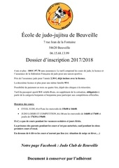 Fichier PDF inscription 2017 2018