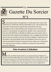 la gazette du sorcier n 3