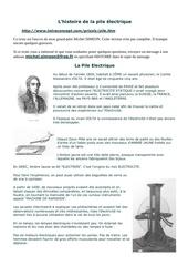 l histoire de la pile electrique 170906