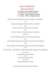 menu gourmand juillet 2017 affichage
