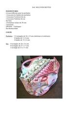 Fichier PDF sac multi pochettes