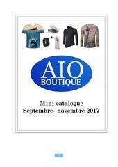 Fichier PDF mini catalogue aio boutique