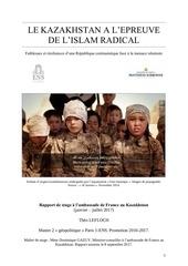 rapport islamisme au kazakhstan