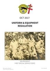 uniform reg fssf