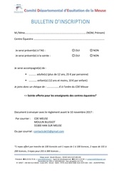 Fichier PDF bulletin d inscription club