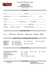 Fichier PDF formulaire adhesion bordeaux swing