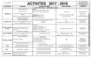 grille activites 2017 2018 2