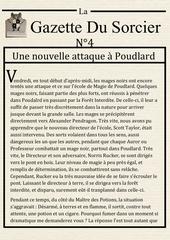 la gazette du sorcier n 4 1
