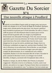 la gazette du sorcier n 4