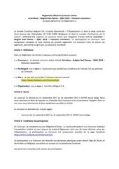 reglement concours bel mol fr