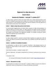 reglement rallye etudiant 2017