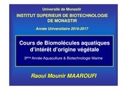 biomol aqua int orig veget 2017 2018