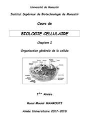 cours polycopie bio cell chap i 1e a isbm 2017 2018 1