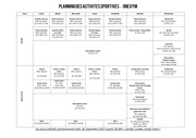 Fichier PDF planning activite s onegym