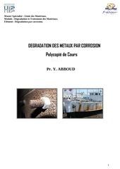Fichier PDF polycopie cours degradation par corrosion
