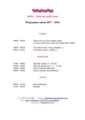 Fichier PDF programme yaka