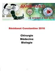 residanat constantine 2016