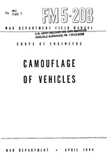 fm 5 20b camouflage of vehicles 1944
