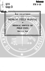 fm 8 10 medical service of field units 1942