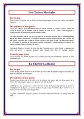 Fichier PDF les chaises musicales