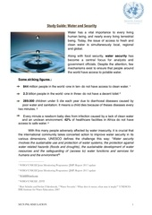 Fichier PDF study guide water and security