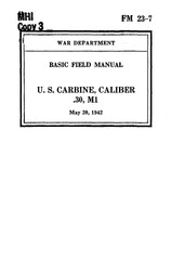 3 fm23 7 us carbine caliber 30 m1 may 1942