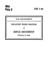fm 7 40 rifle regiment 1942