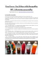 Fichier PDF diy 5 activites sensorielles