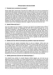 interview scars pdf