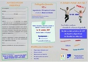 2018 tract 4 jours pour ma vie 2017 2018