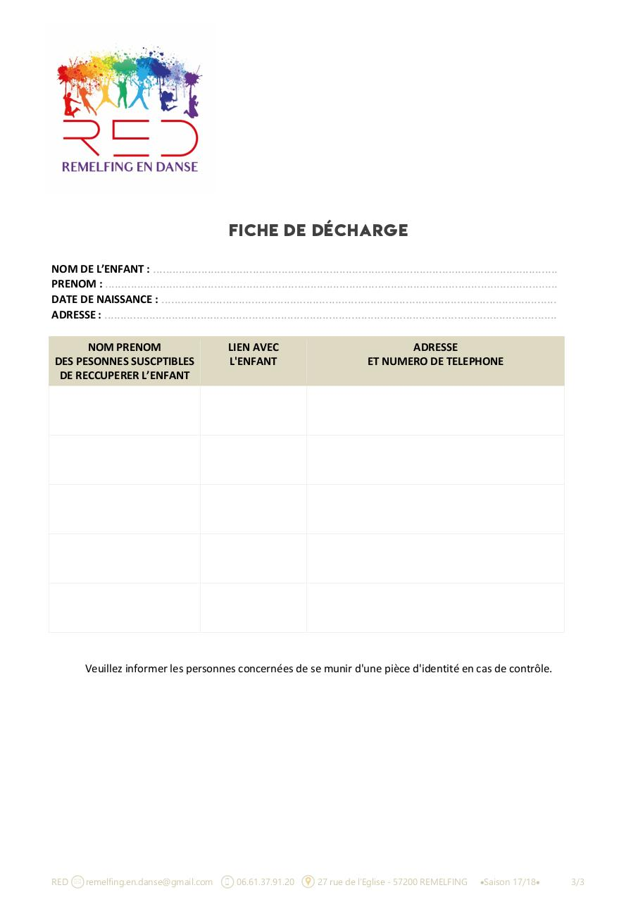 Aperçu du document FICHE INSCRIPTION + DECHARGE RED2017-2018.pdf - page 3/3