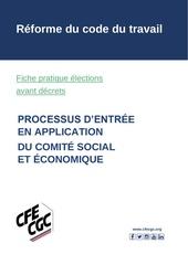 fiches pratiques elections avant decrets