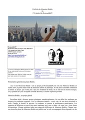 Fichier PDF portfolio bidule leger