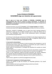 170919 fusion vivaqua bonne gouvernance