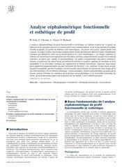 odf emc analyse cephalometrique