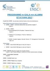 2017 programme gala