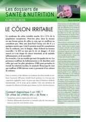 25 octobre 2013 colon irritable