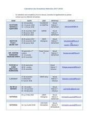 calendrier des formations federales 2017 2018