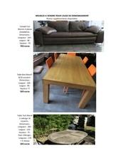meubles a vendre