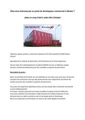 Fichier PDF recrutement developpeur commercial