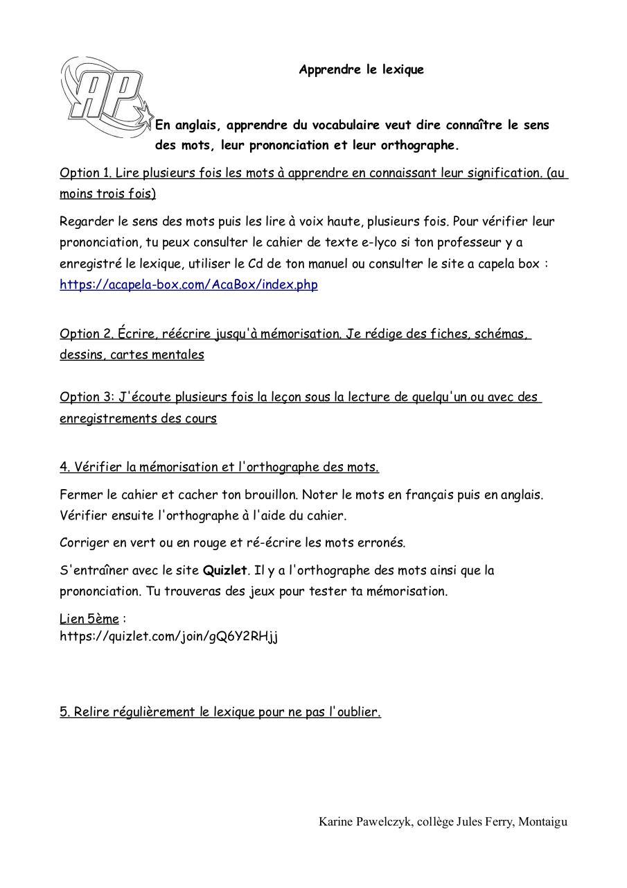 vocabulaire maison anglais pdf  u2013 ventana blog